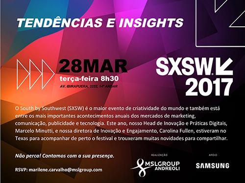 convite SXSW